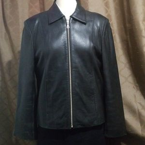 Adler Collection Lambskin Leather Jacket